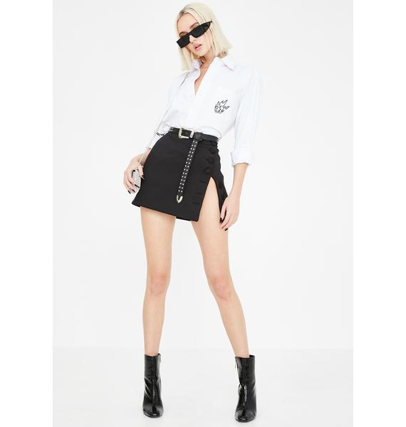 Kiki Riki Executive It Girl Mini Skirt