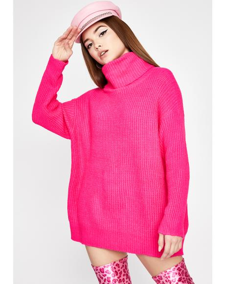 Sweet Warm Welcome Turtleneck Sweater