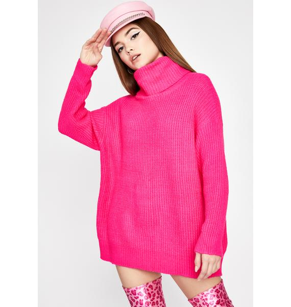 Sweet Warm Welcome Turtleneck Sweater