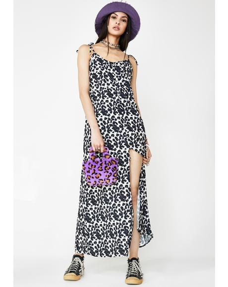 Leopard Print Cami Dress