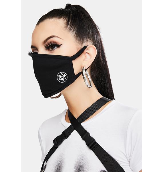 Long Clothing Logo Face Mask