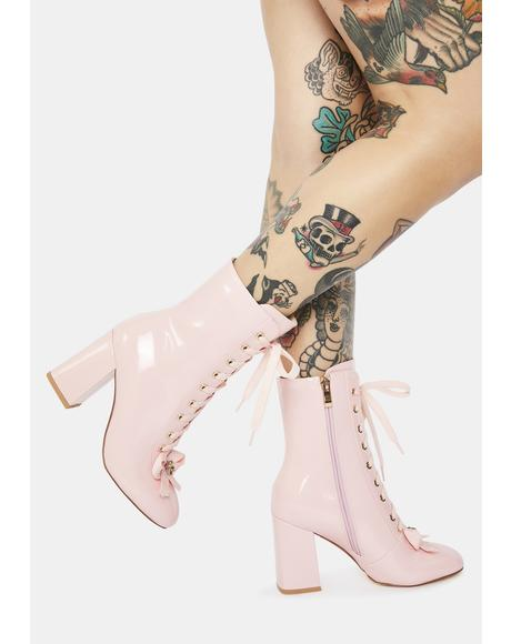 The One I Want Lace Up Boots