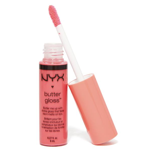 NYX  Peaches & Cream Butter Gloss
