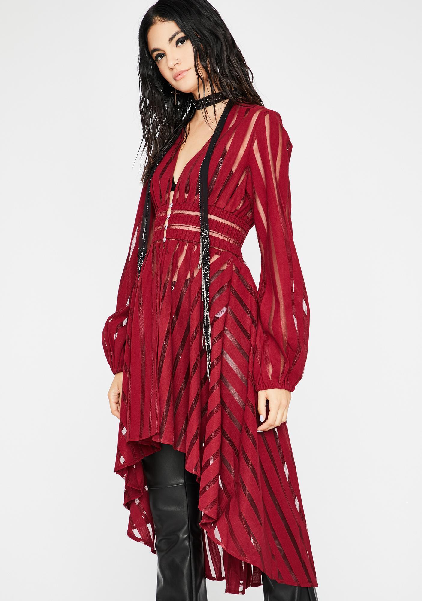 Love Supreme Queen Sheer Jacket