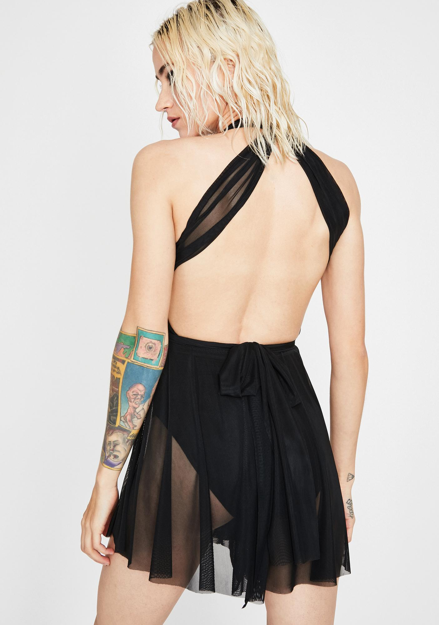 Night Harmony Mesh Romper