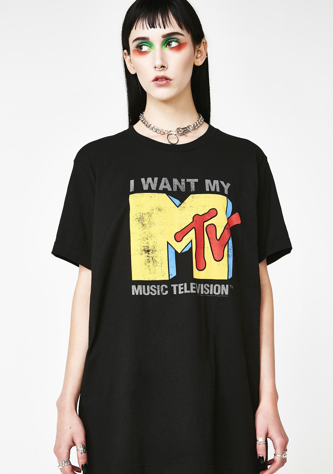I Want My Music Graphic Tee