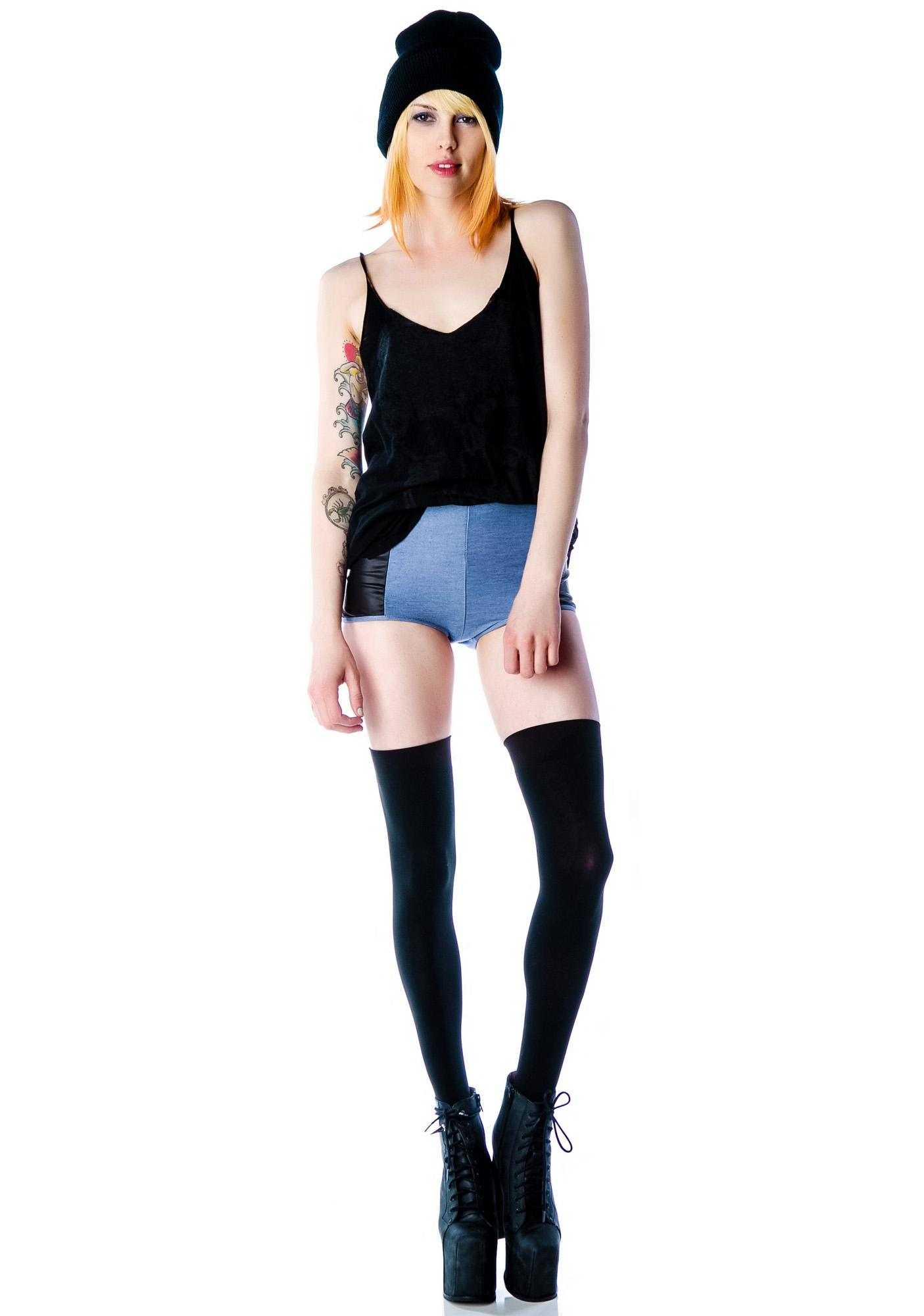 Nearly Naked Biker Shorts
