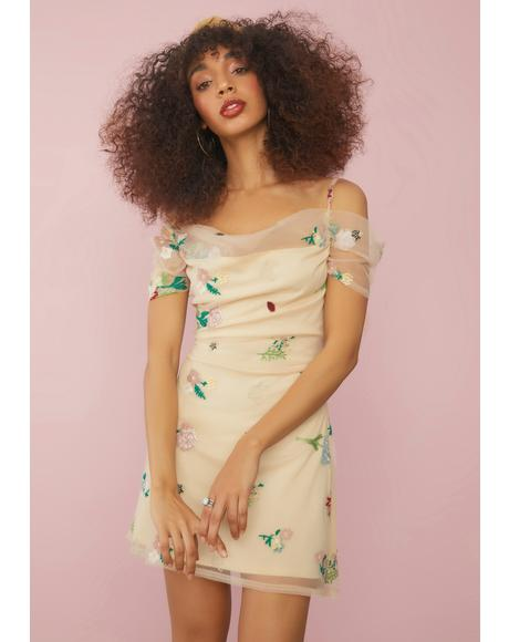 Feels Like Paradise Floral Mini Dress