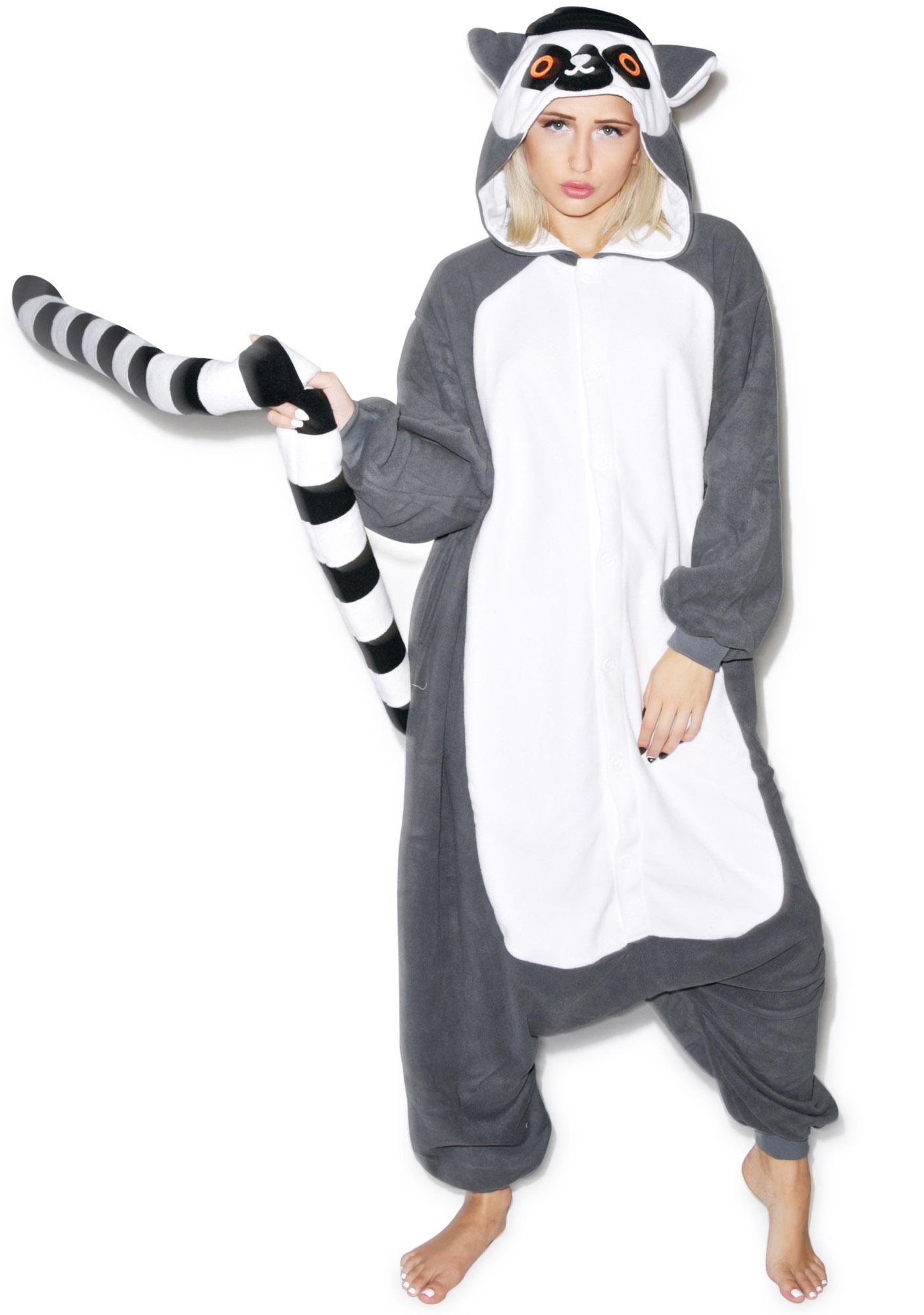 Sazac Lemur Kigurumi