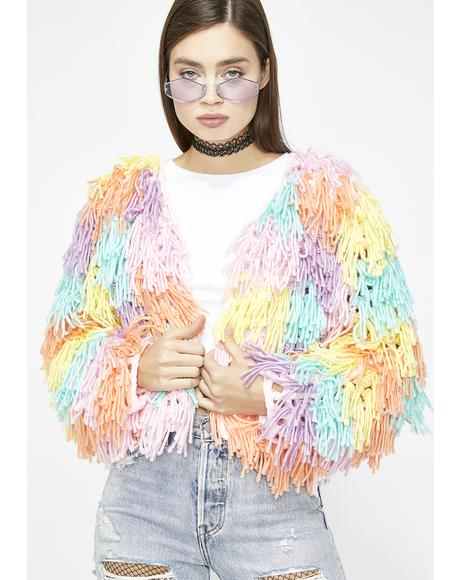 Funk Princess Shag Cardigan
