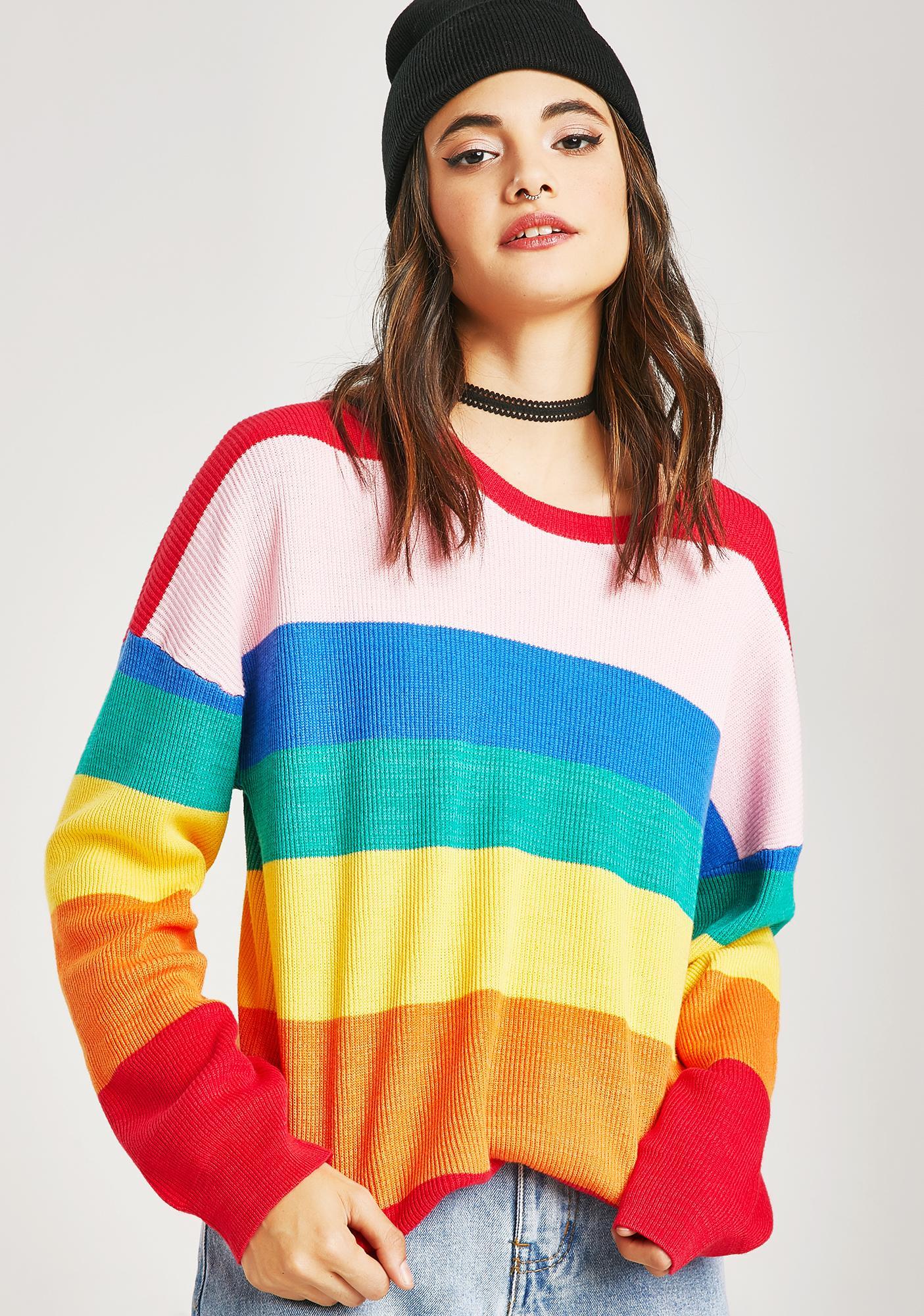 Castro Rainbow Sweater