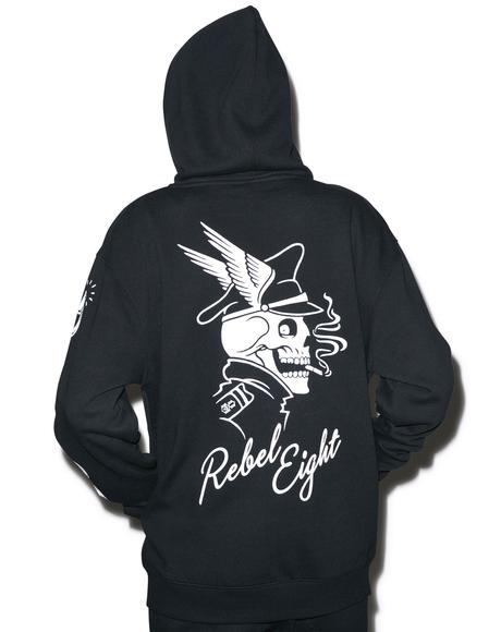 Ride Hard Zip-Up Hoodie