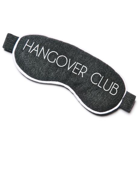 Hangover Club Eyemask