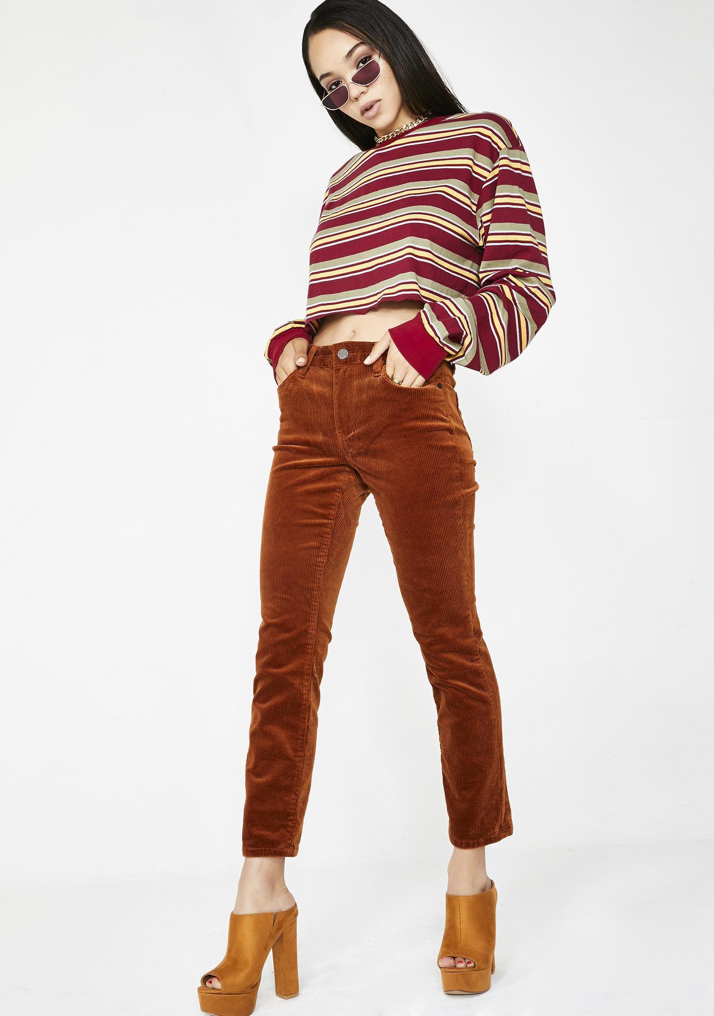 Blank NYC Clockwork Copper Pants