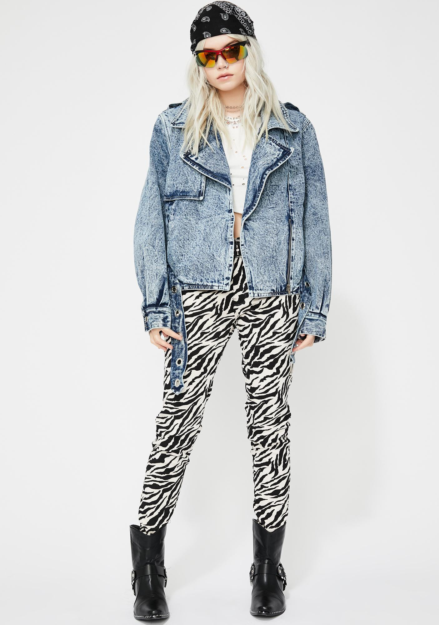 Acid Queen Denim Jacket