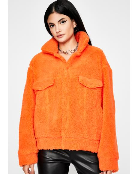 Cloud Puff Sherpa Jacket