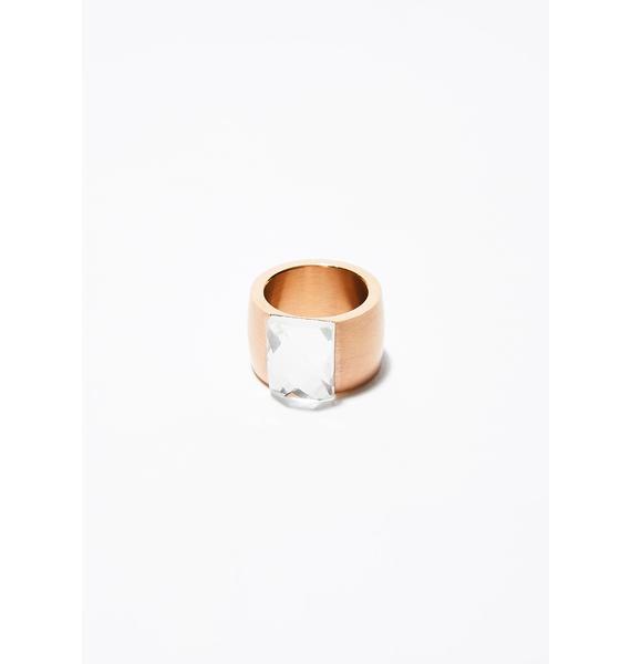 New Bling Rhinestone Ring