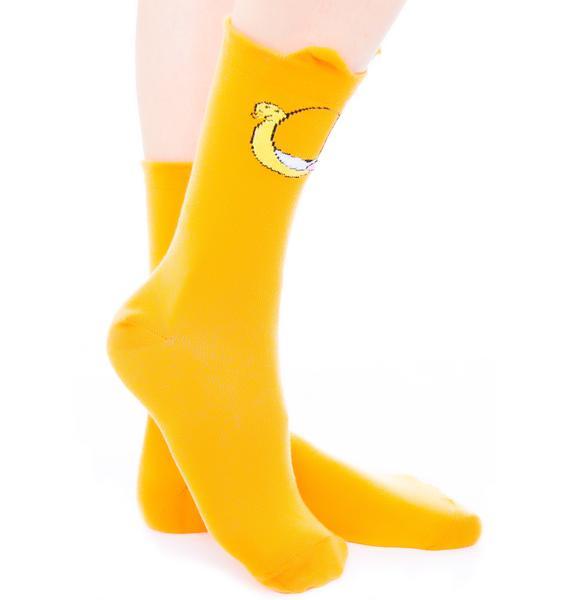 Lazy Oaf x Garfield Socks