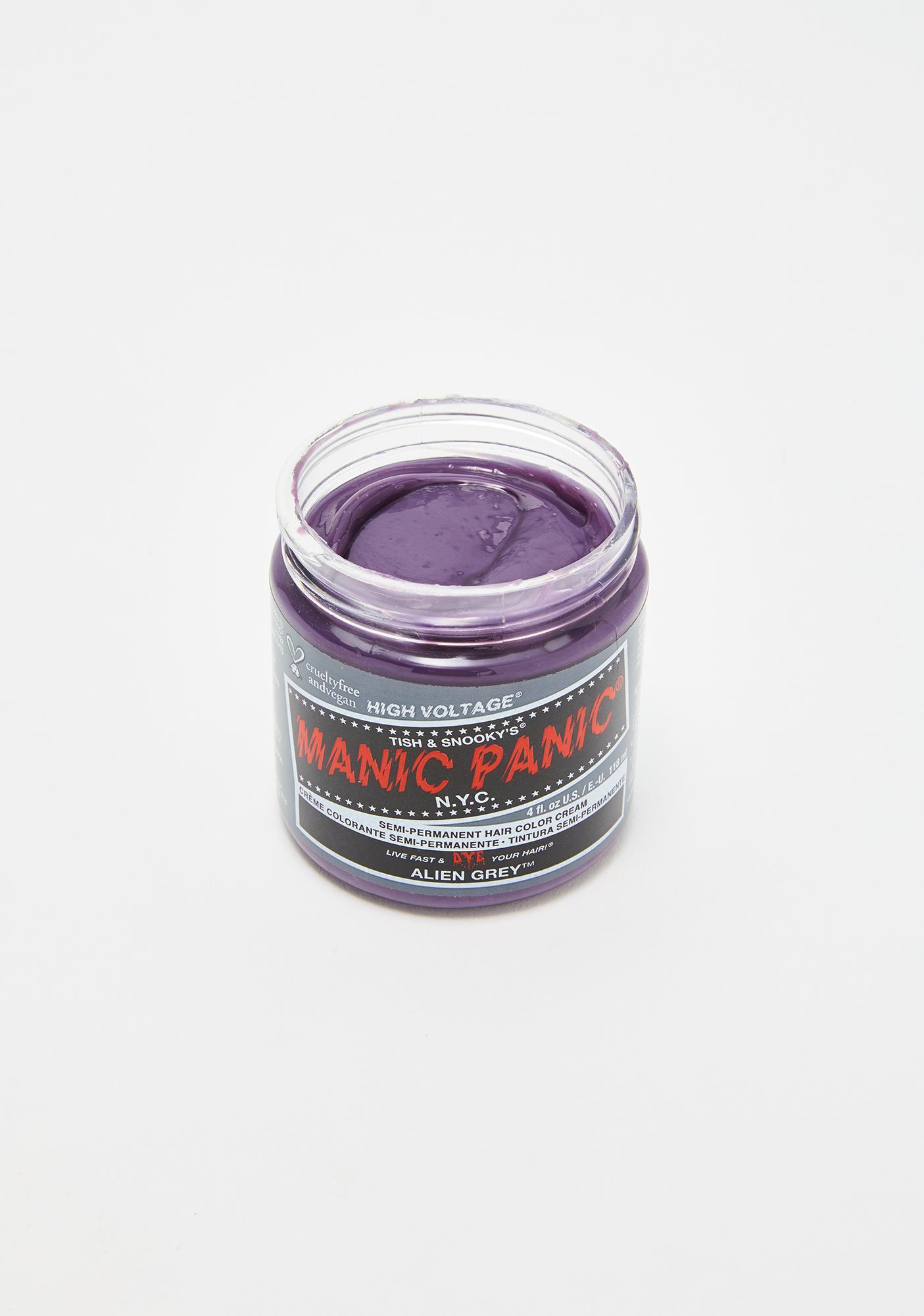 Manic Panic Alien Grey Classic High Voltage Hair Dye