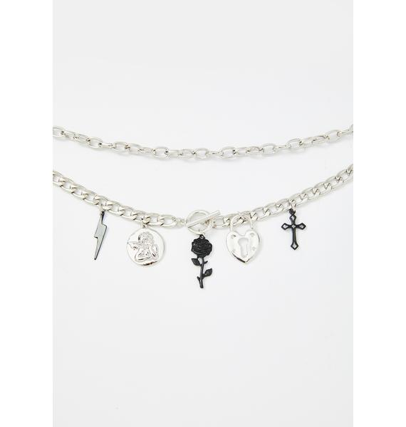 Romance Charms Layered Necklace