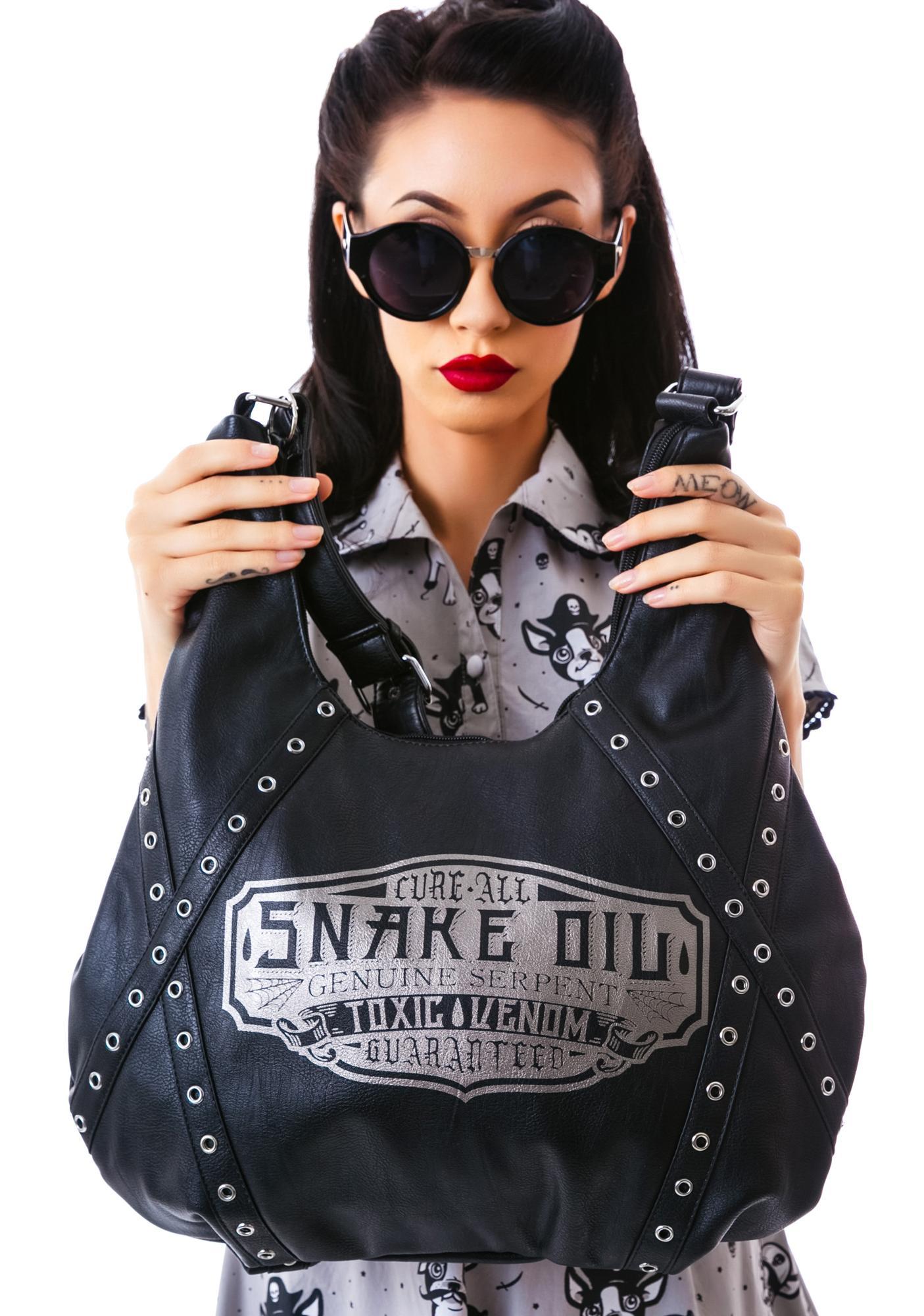 Sourpuss Clothing Hobo Snake Oil Purse