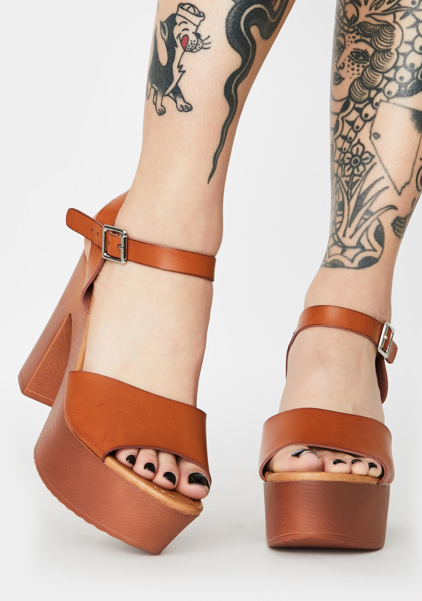 Ask Me Why Block Heels