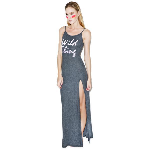 Wildfox Couture Wild Thing Jet Set Maxi Dress