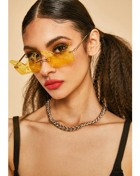 Butterfly Chillin Sunglasses