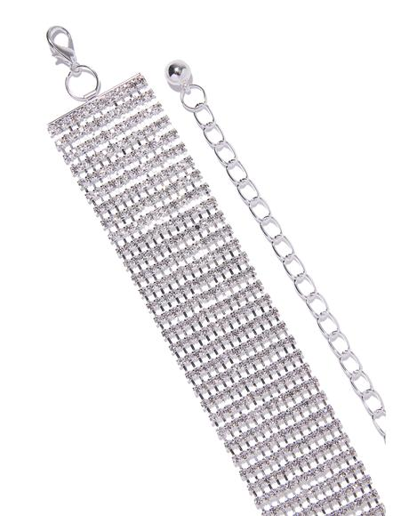 Catch Your Eye Rhinestone Belt