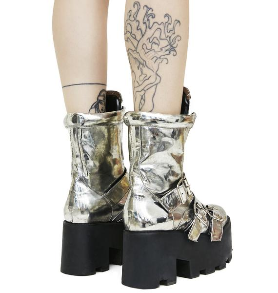 Current Mood Plated Detroit Boots