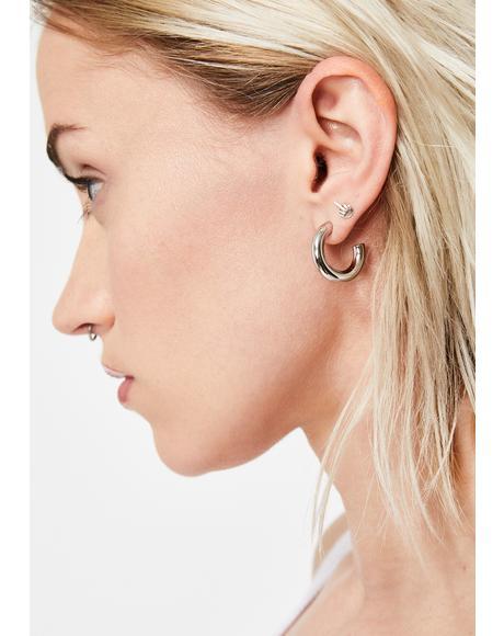 Classy Vibes Hoop Earrings