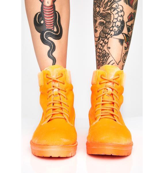 Strobe Rider Combat Boots