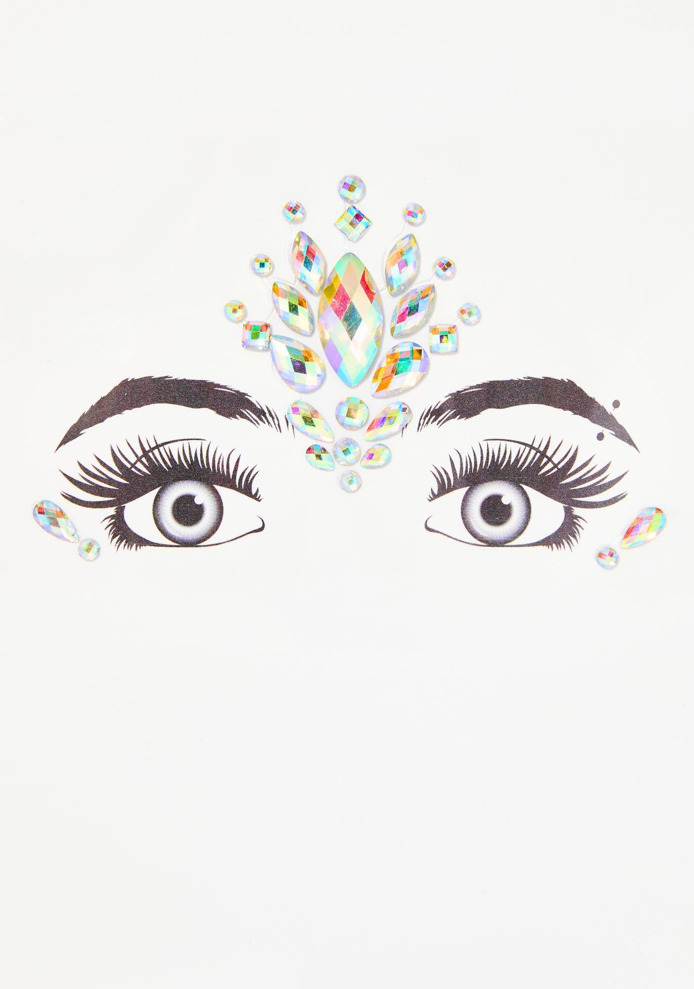 Cosmic Third Eye Awakening Face Gems