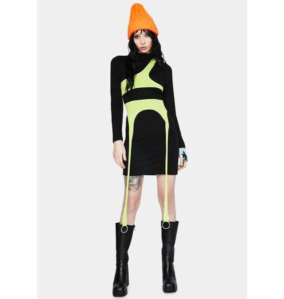 Ivy Berlin Kim Possible Bodycon Dress