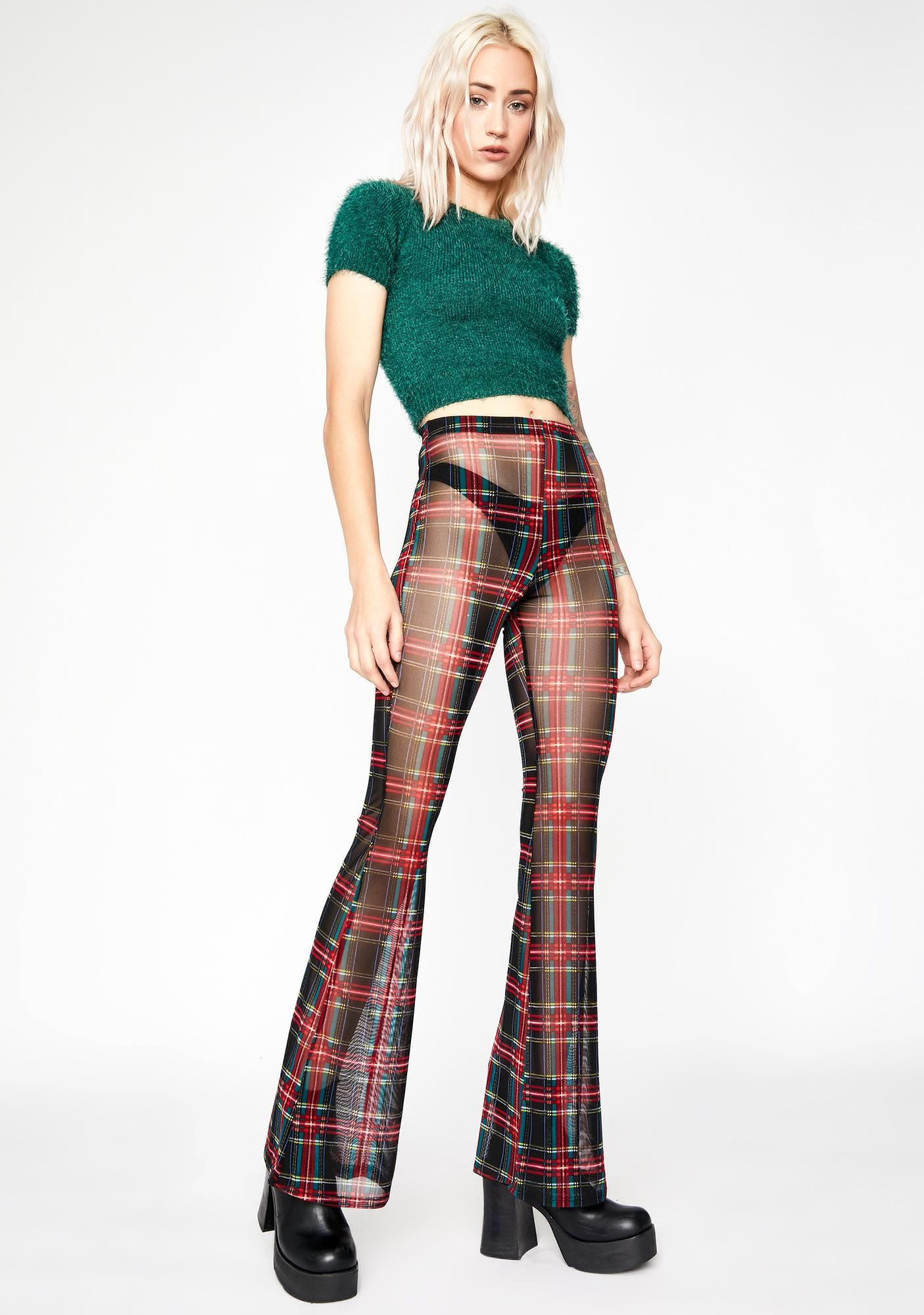 Lustful Lass Mesh Pants