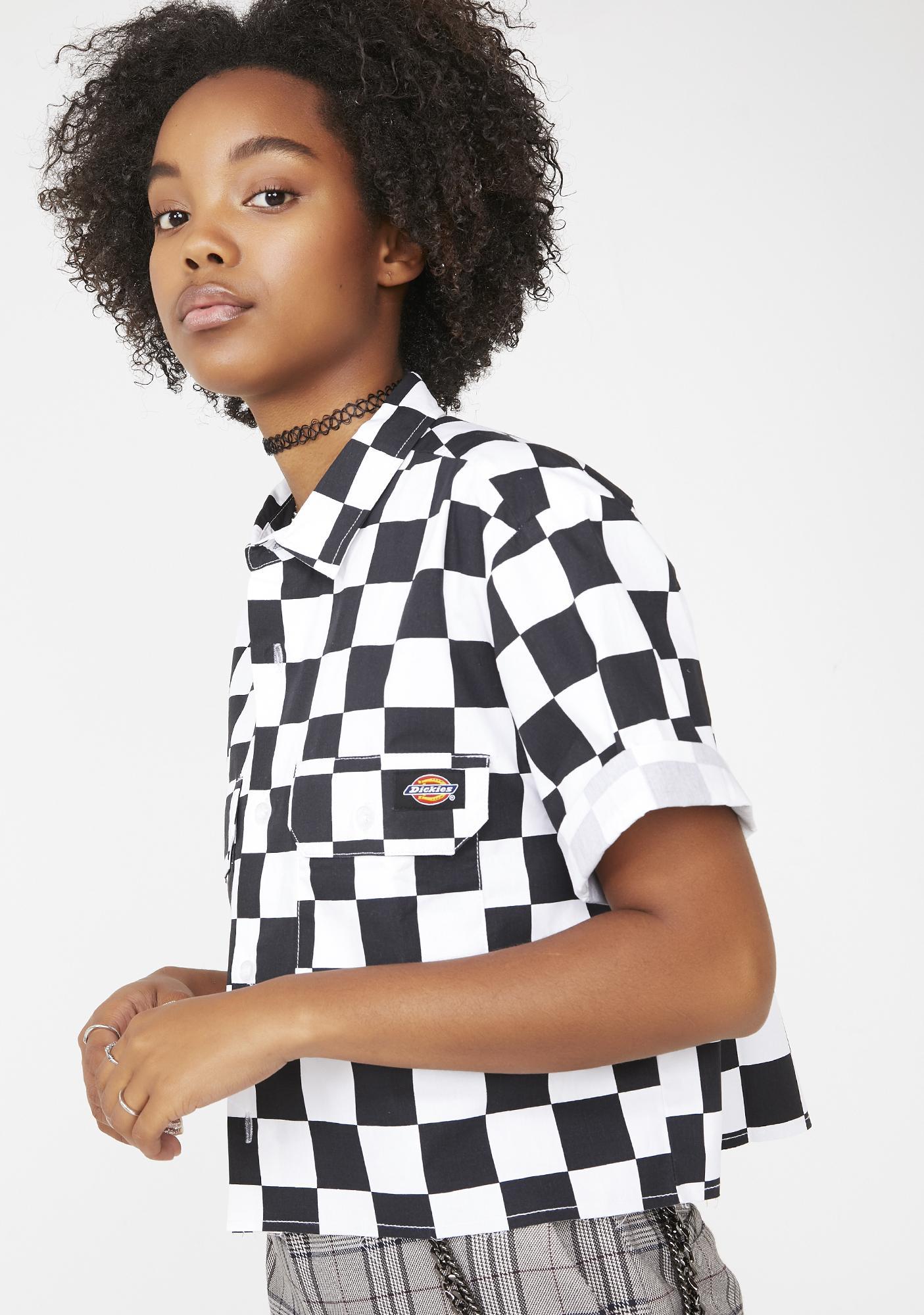 Dickies Girl Crop Work Shirt