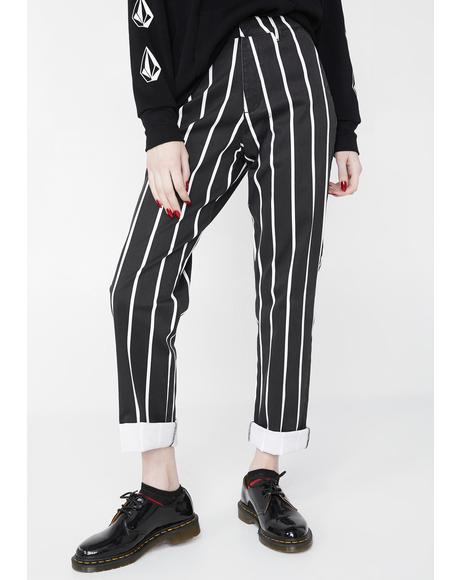 Midnight Frochickie High Rise Pants