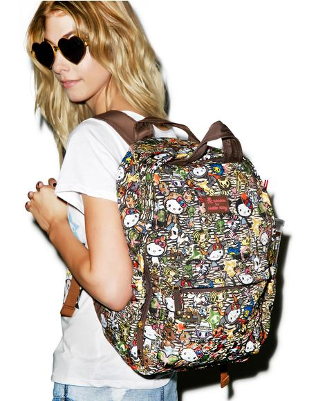 Tokidoki X Hello Kitty Summer Safari Backpack