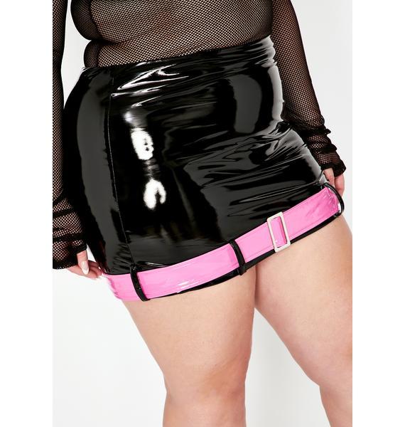 Digital Straight To Stereo Vinyl Skirt