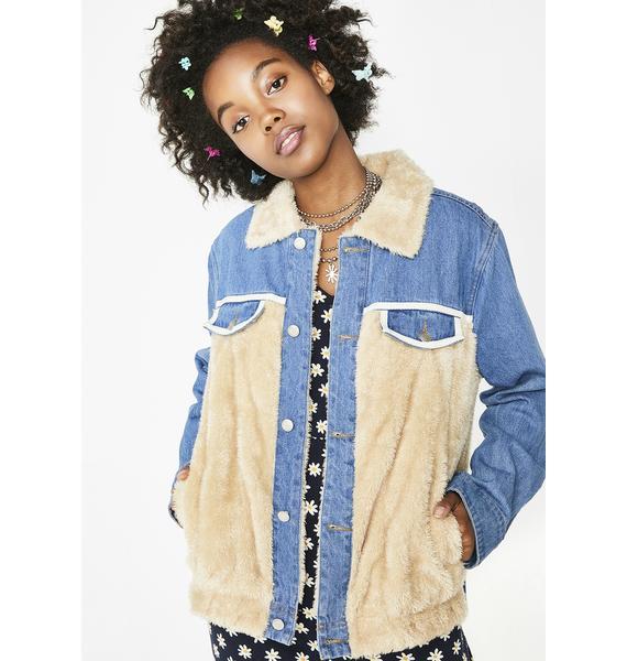 Something About Ya Denim Jacket