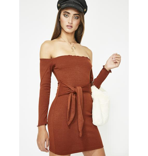 Juiced Snob N' A Half Mini Dress