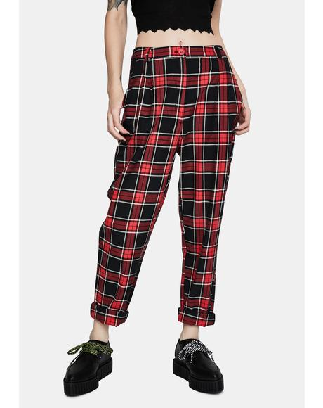 Nasty Plaid Pants