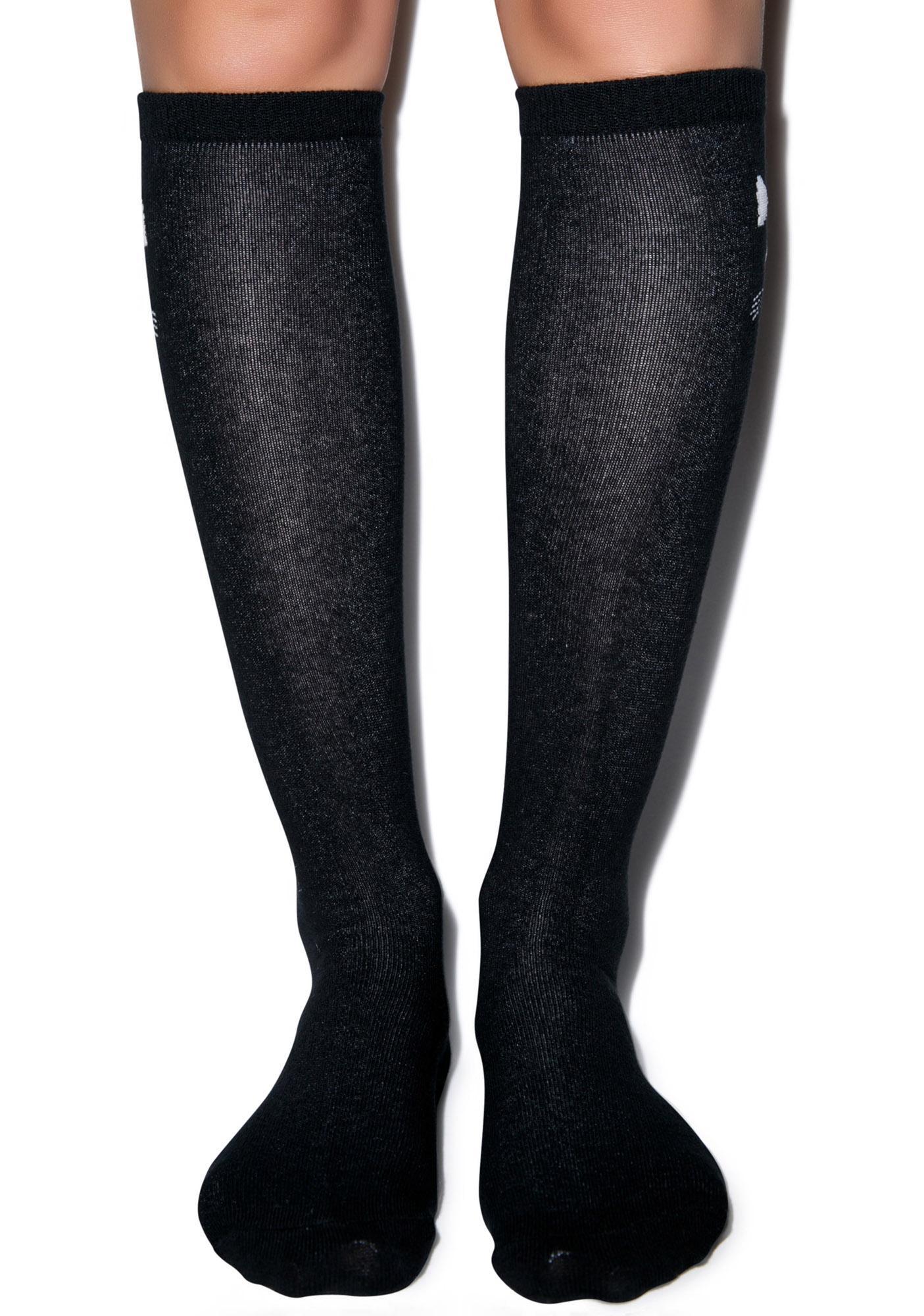 Choupette Knee High Socks
