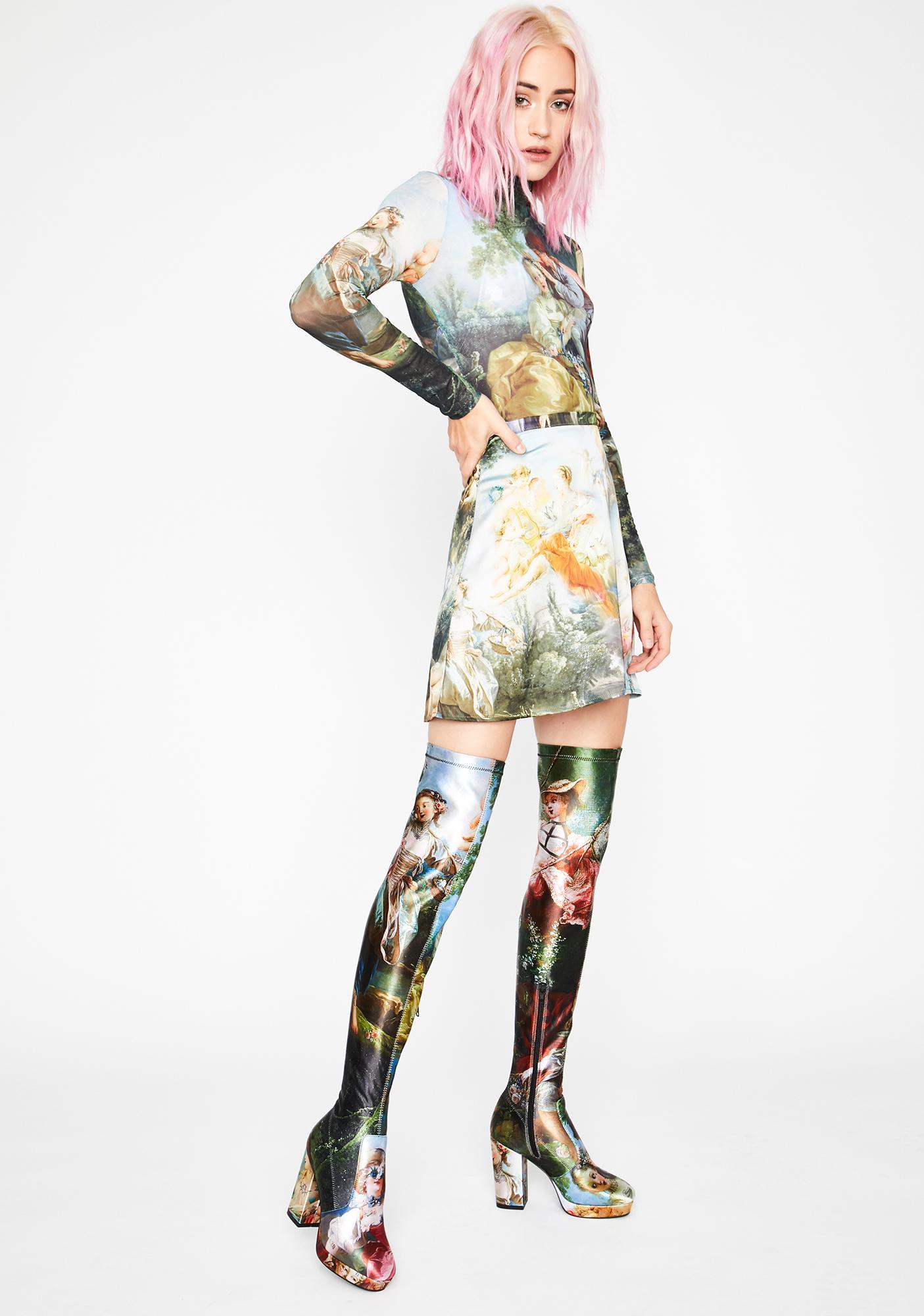 Current Mood Da Vinci's Demons Thigh High Boots