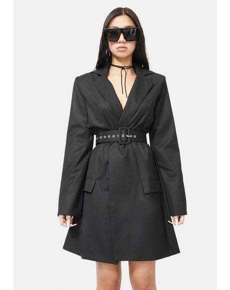 Hailey Blazer Dress