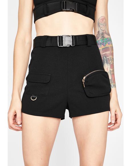 Killa Baddie Cargo Shorts