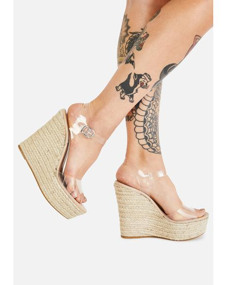 Summer Get Together Wedge Heels