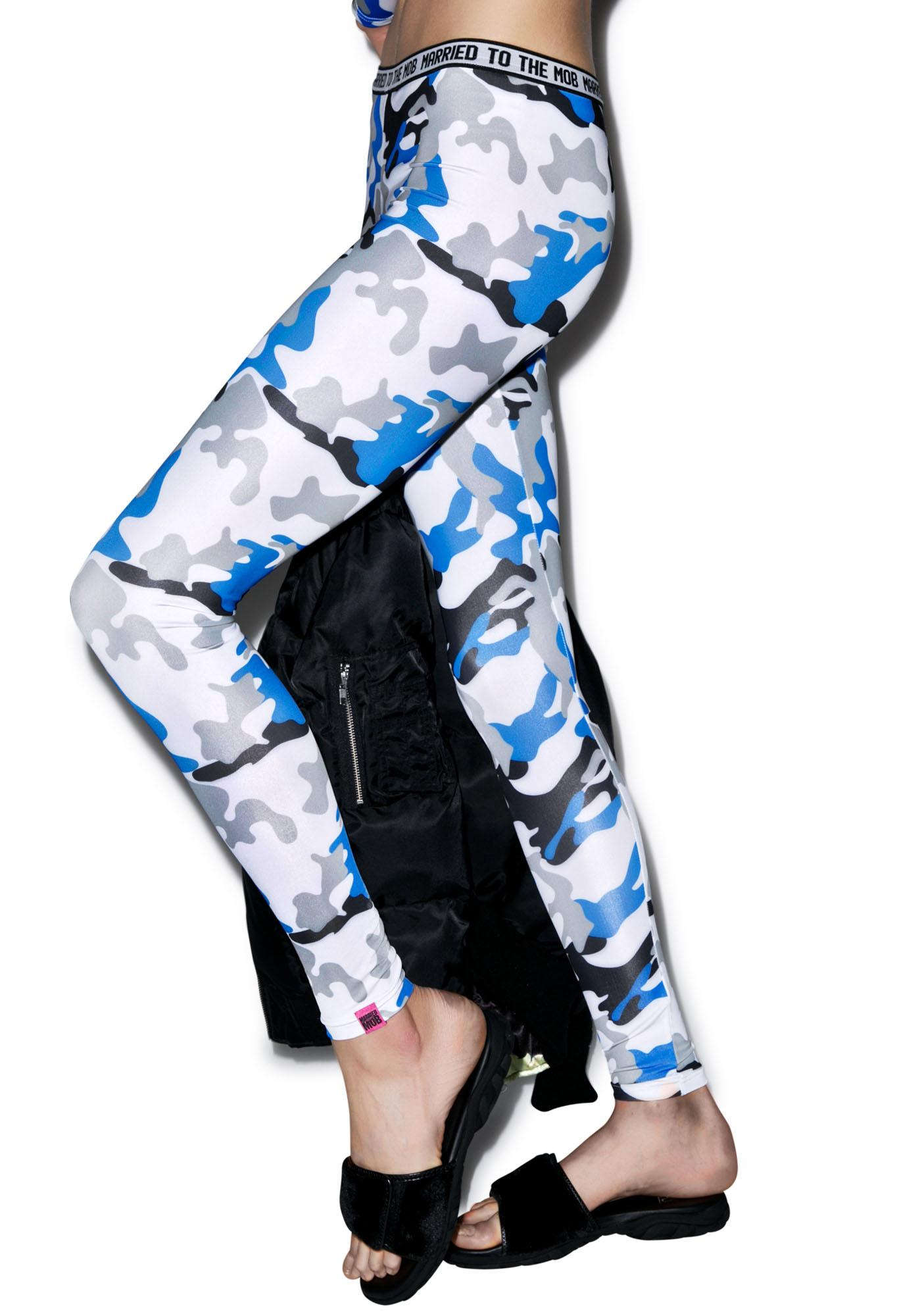 Married to the Mob Worst Enemy Leggings
