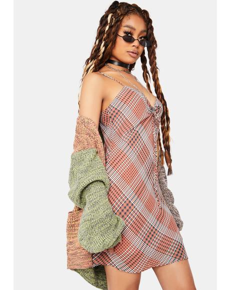 Best Of The Best Plaid Mini Dress