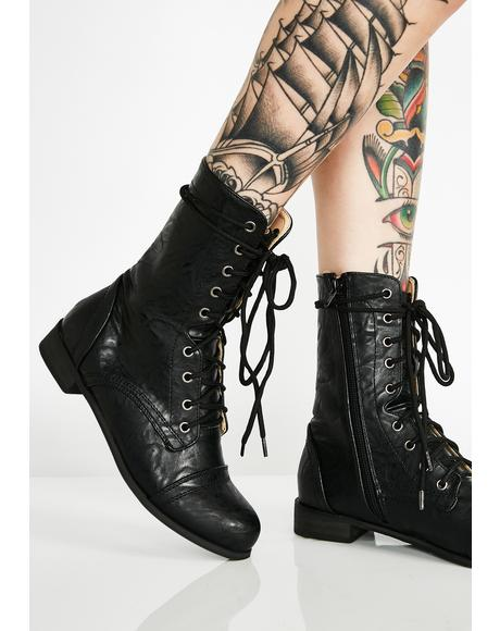 Worth The Fight Combat Boots